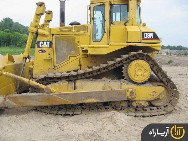 مشخصات فنی بلدوزر کاترپیلار (caterpillar) مدل D9N