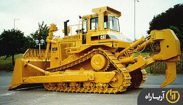 cمشخصات فنی بلدوزر کاترپیلار (caterpillar) مدل D9N