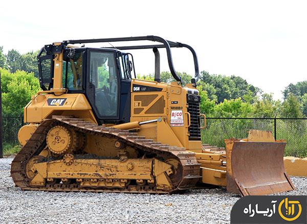 بلدوزر کاترپیلار (caterpillar) مدل D6N