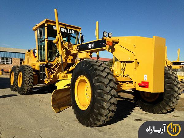 گریدر کاترپیلار (caterpillar) مدل 140H