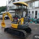 مشخصات فنی مینی بیل مکانیکی کوماتسو مدل PC20MR-2