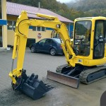 مشخصات فنی مینی بیل مکانیکی کوماتسو مدل PC27R-8