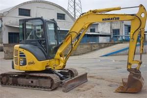 مشخصات فنی مینی بیل مکانیکی کوماتسو مدل PC50MR-2