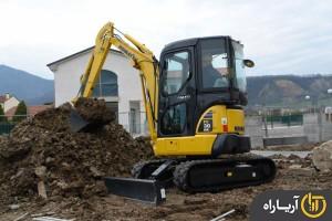 مشخصات فنی مینی بیل مکانیکی کوماتسو مدل PC30 MRx