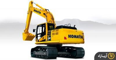 بیل مکانیکی کوماتسو مدل  PC290LC-10