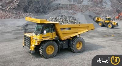 komatsu dump truck HD605-7R (2)