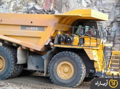 komatsu dump truck HD605-7R (3)