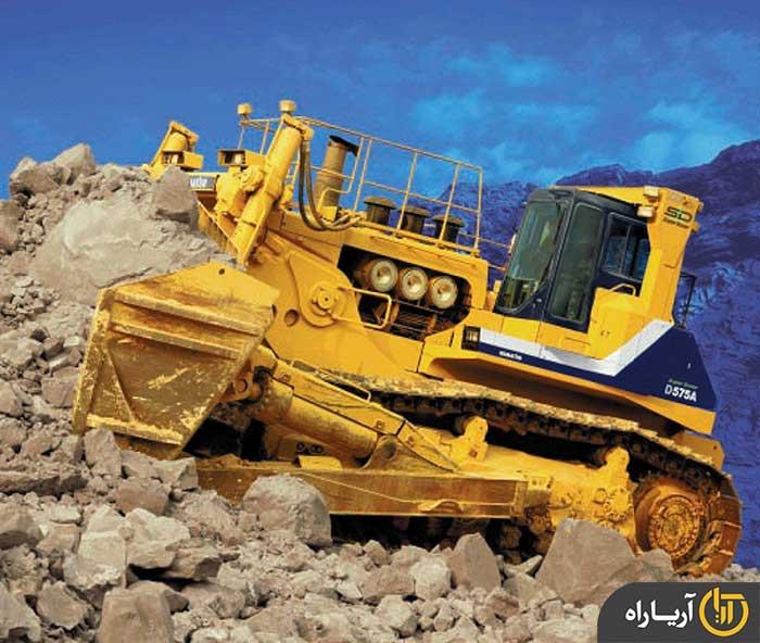 komatsu bulldozer D575A (5)